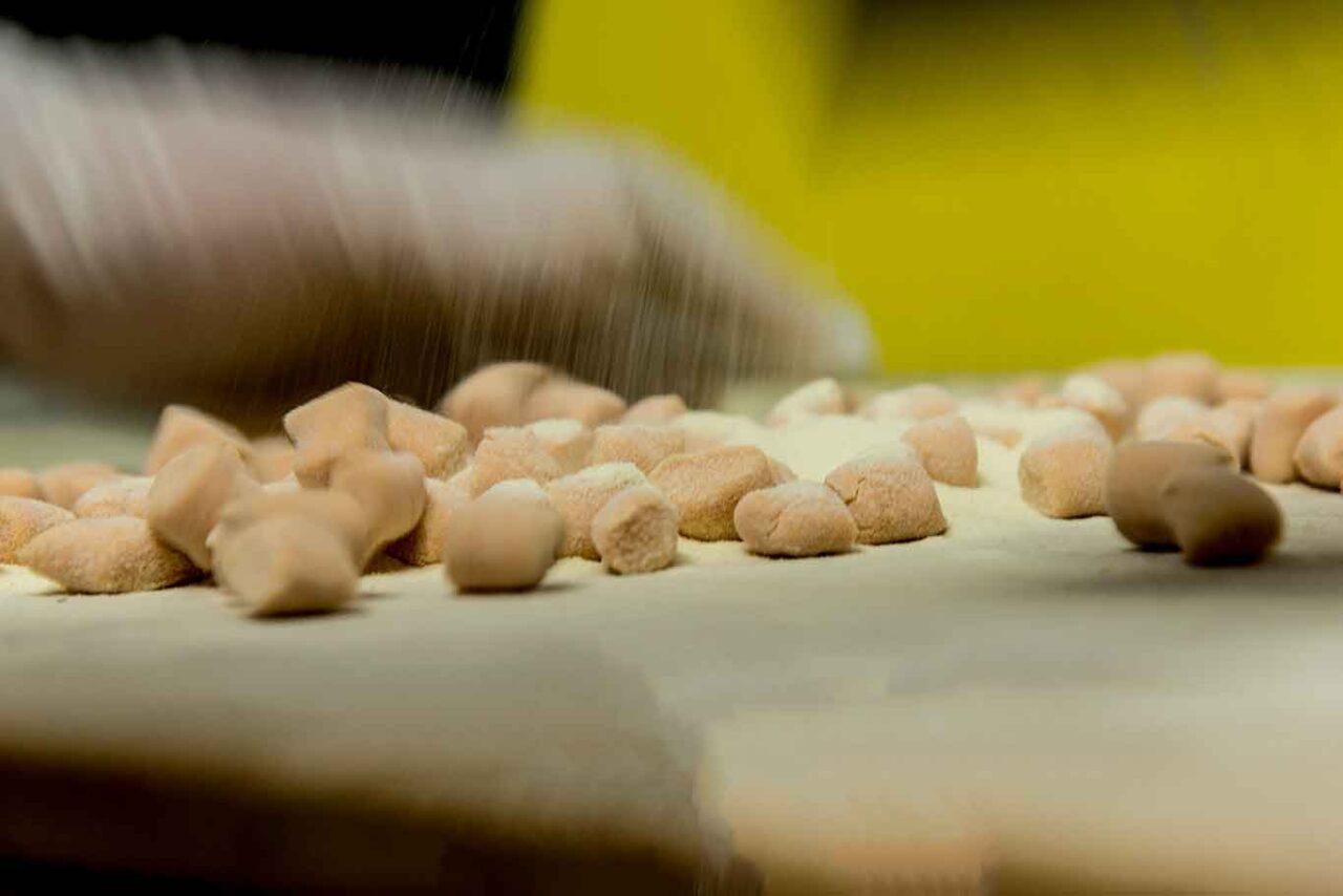 funghi porcini in Abruzzo: gnocchi