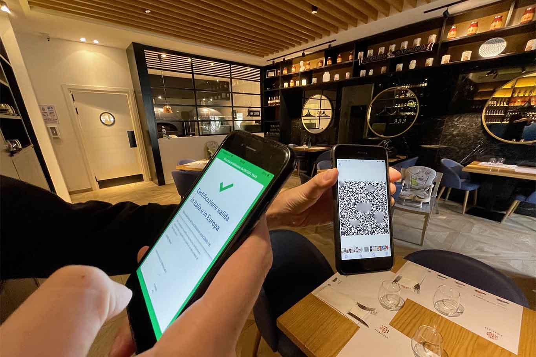 green pass obbligatorio per dipendenti ristoranti