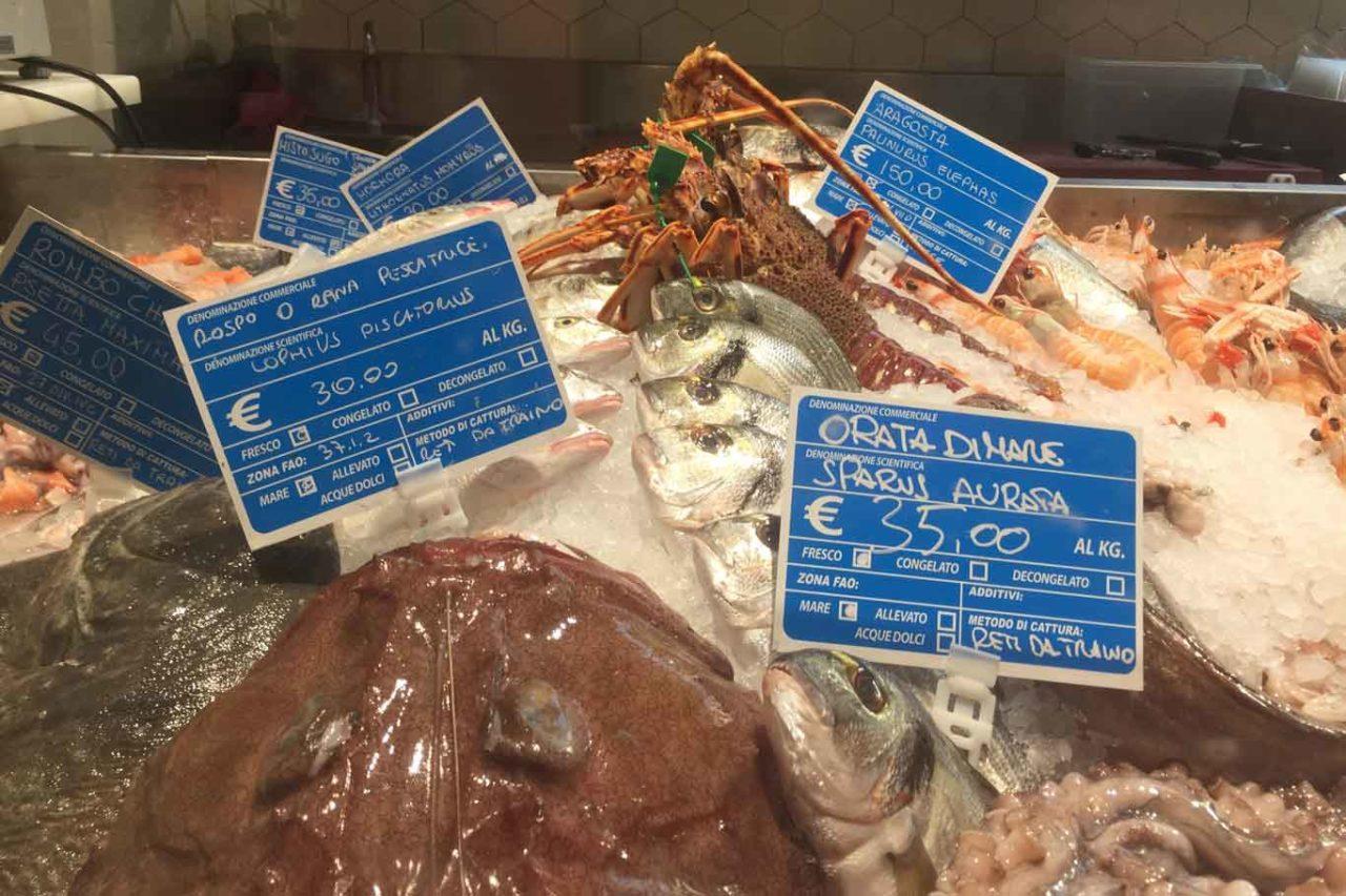 mercato centrale milano pescheria prezzi