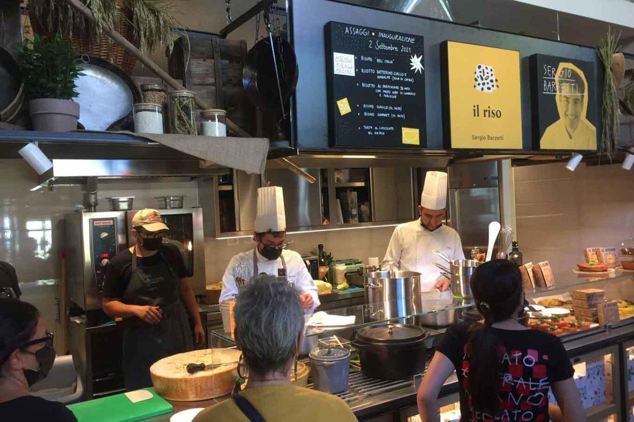 mercato centrale milano  riso sergio barzetti