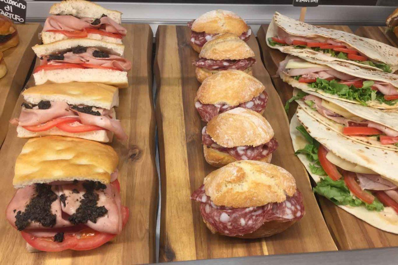 mercato milano centrale savini tartufi panini