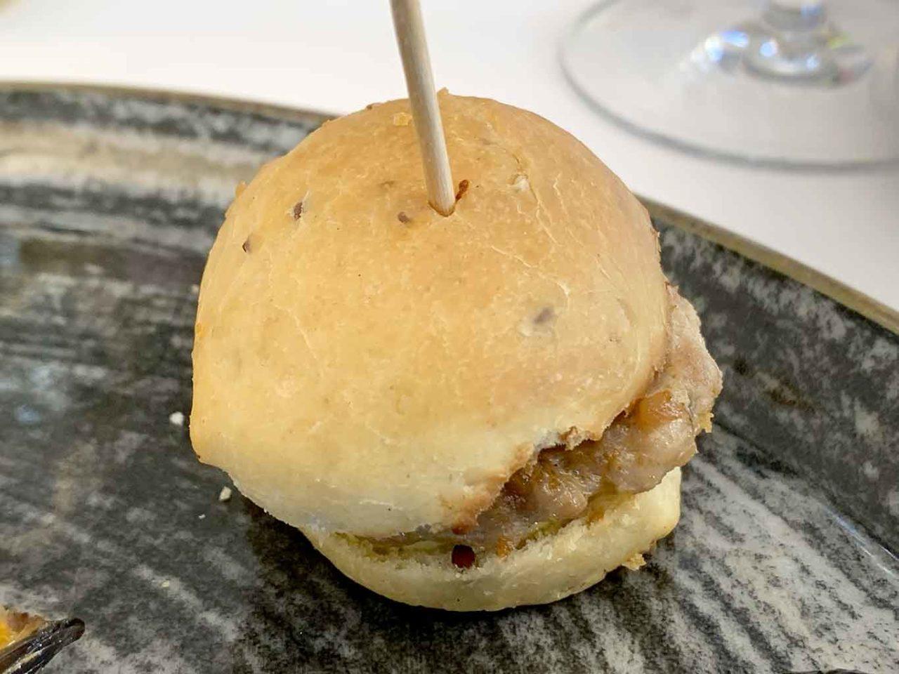 ristorante Carlo Ferraioli Pescara panino tonno