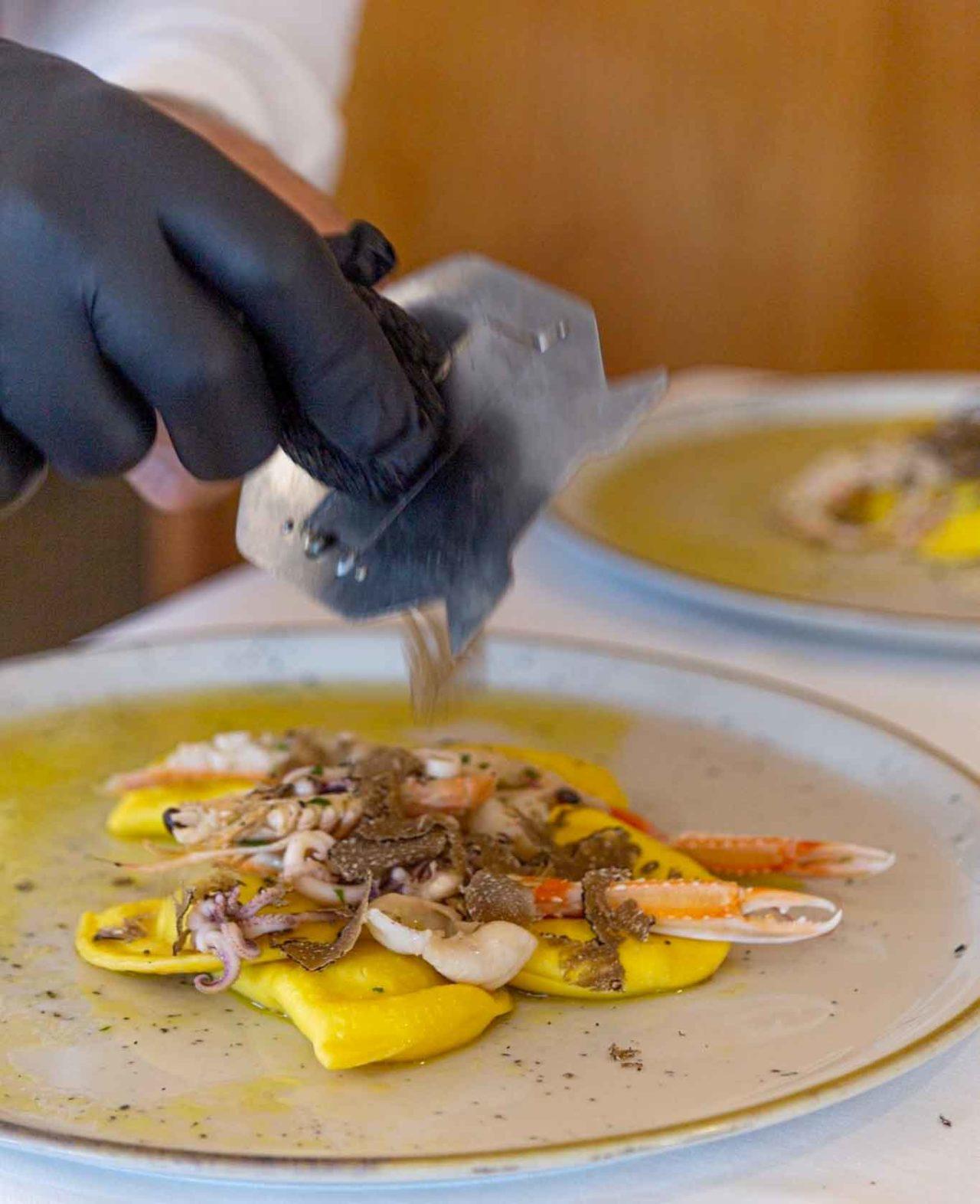 ristorante Carlo Ferraioli Pescara ravioli