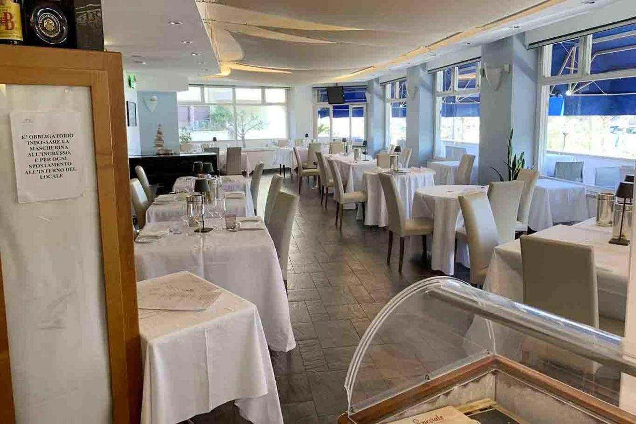 ristorante Carlo Ferraioli Pescara sala