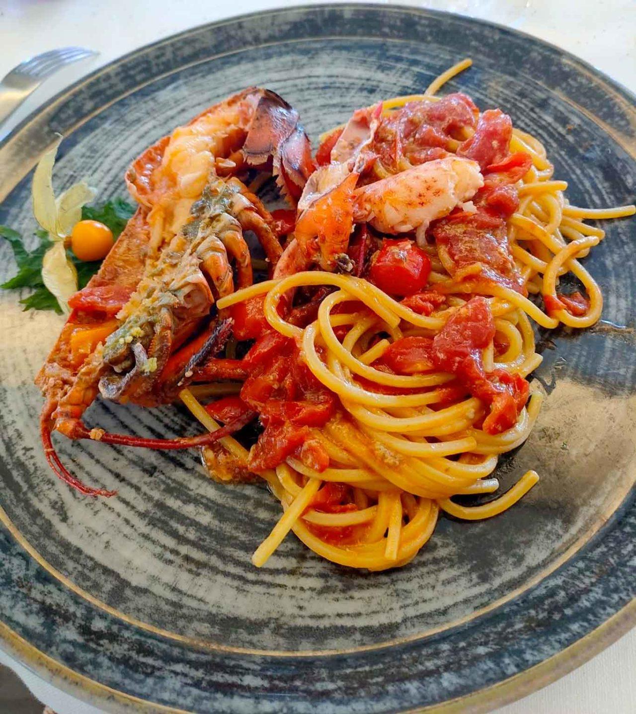 ristorante Carlo Ferraioli Pescara spaghetti astice