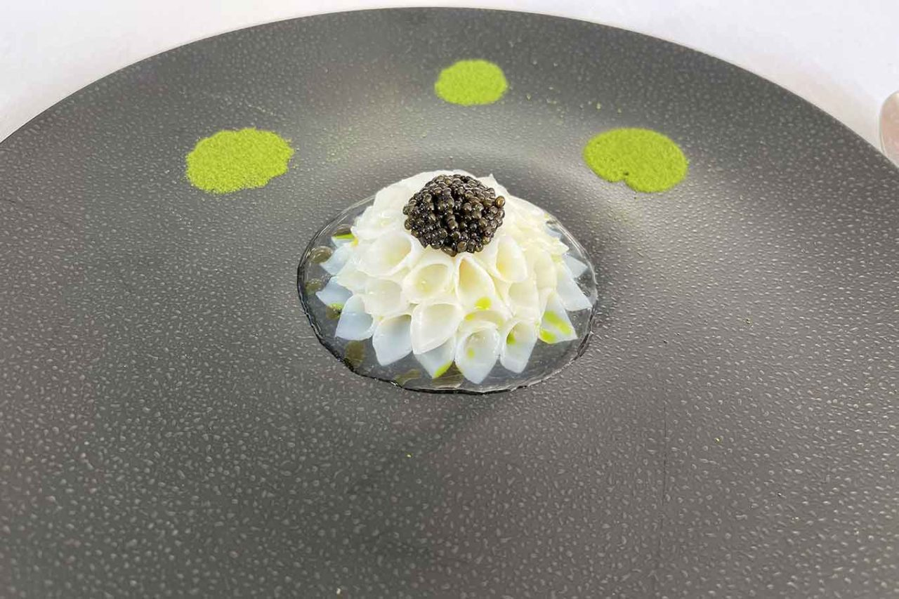 ristorante Quattro Passi Nerano fiore di loto
