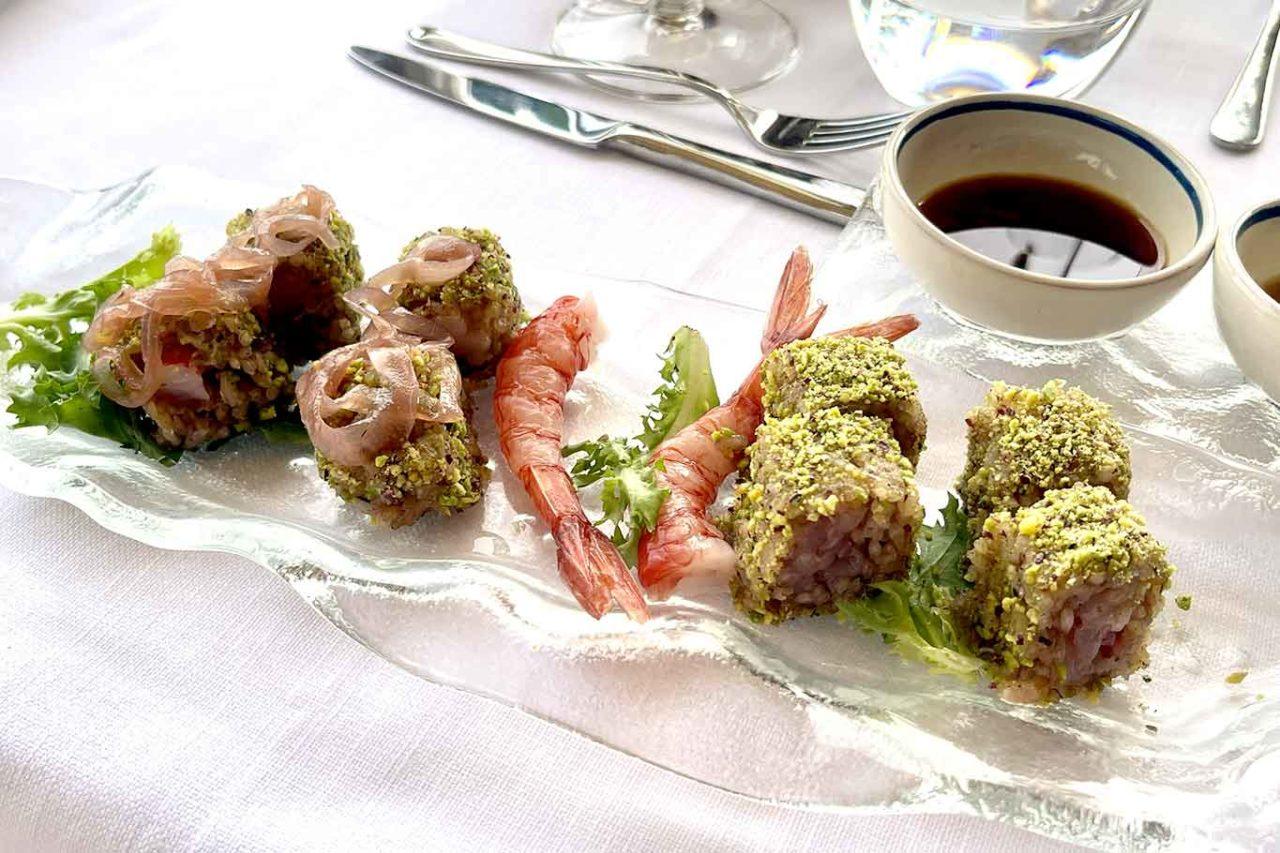 sushi siciliano a Taormina