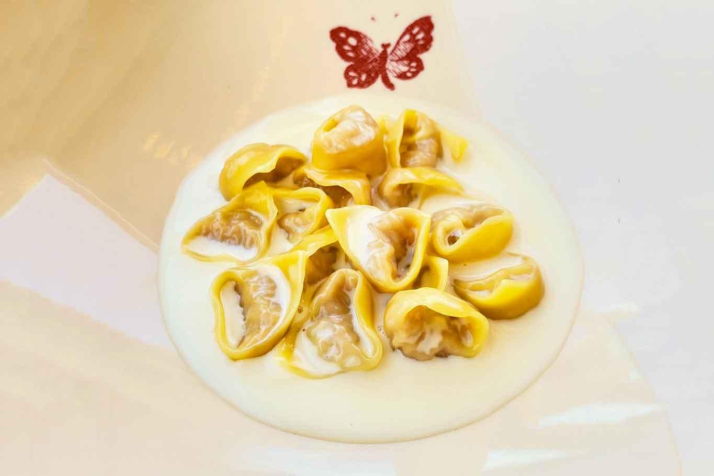 tortellini Gucci Osteria da Massimo Bottura Beverly Hills stella Michelin
