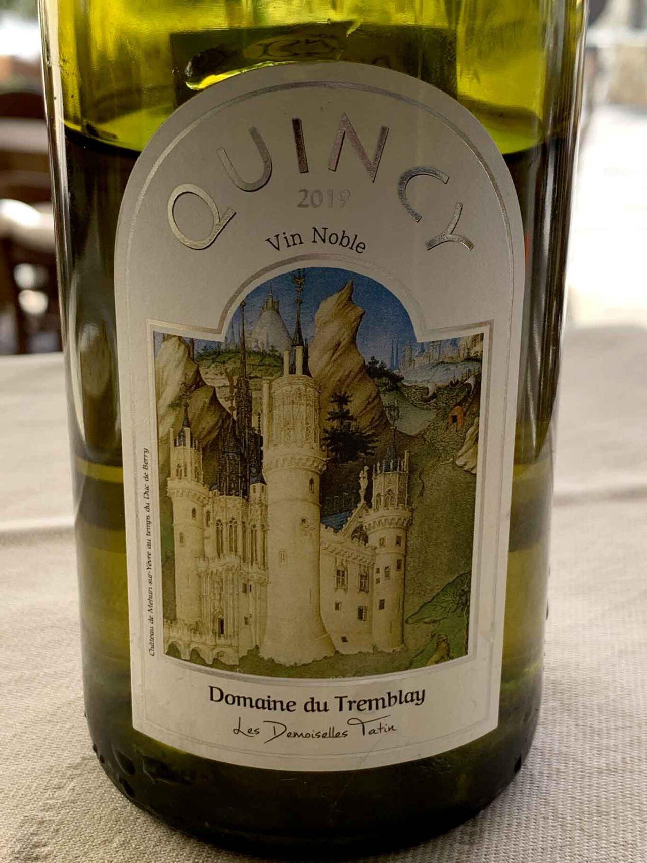 Domaine Du Tremblay Quincy Cuvée Vin Nobles