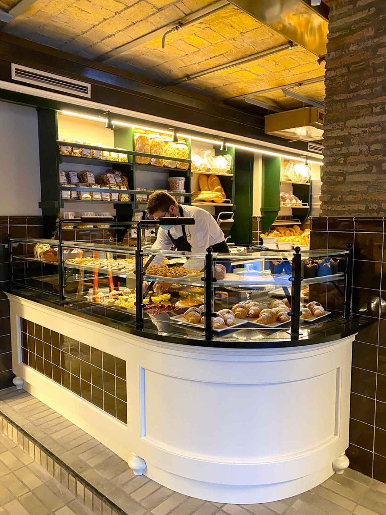 Ercoli Trastevere Roma bakery