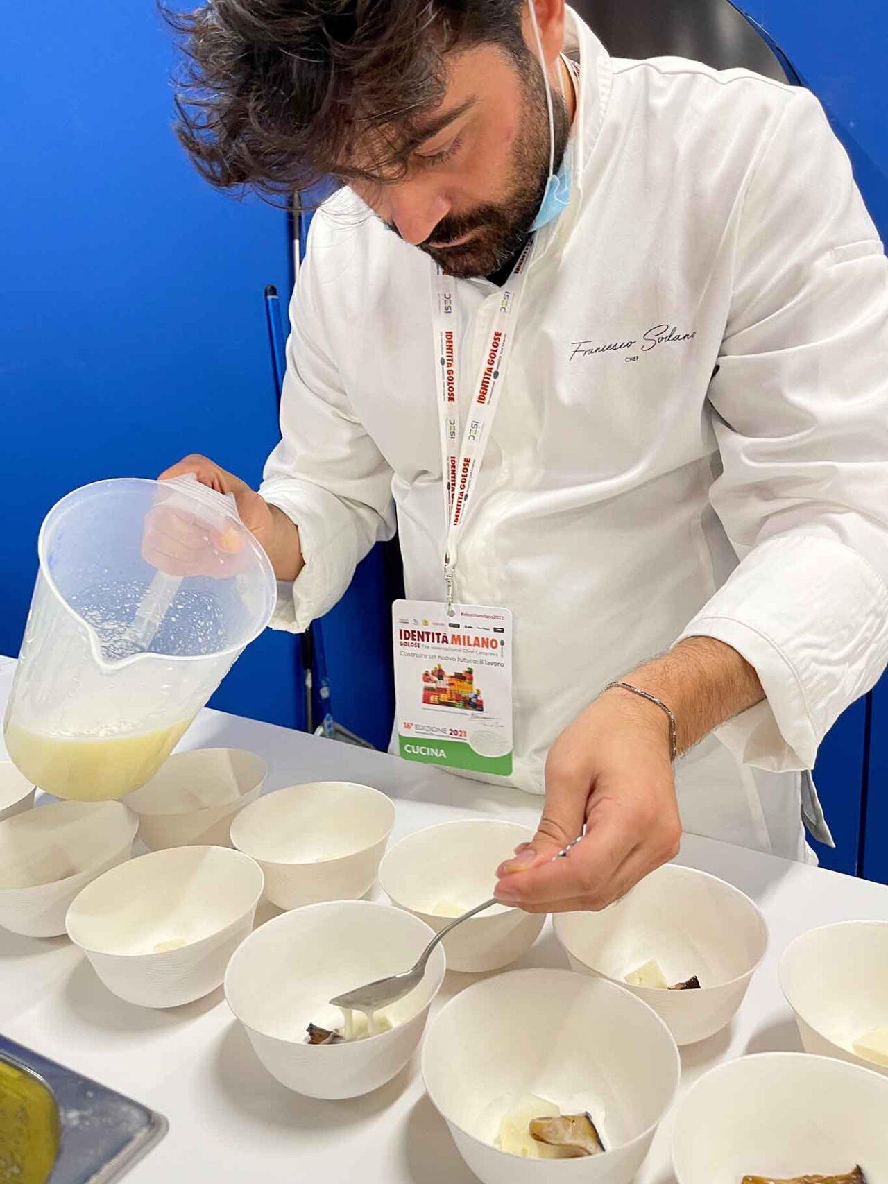zuppa di provola nella disfida fiordilatte o mozzarella