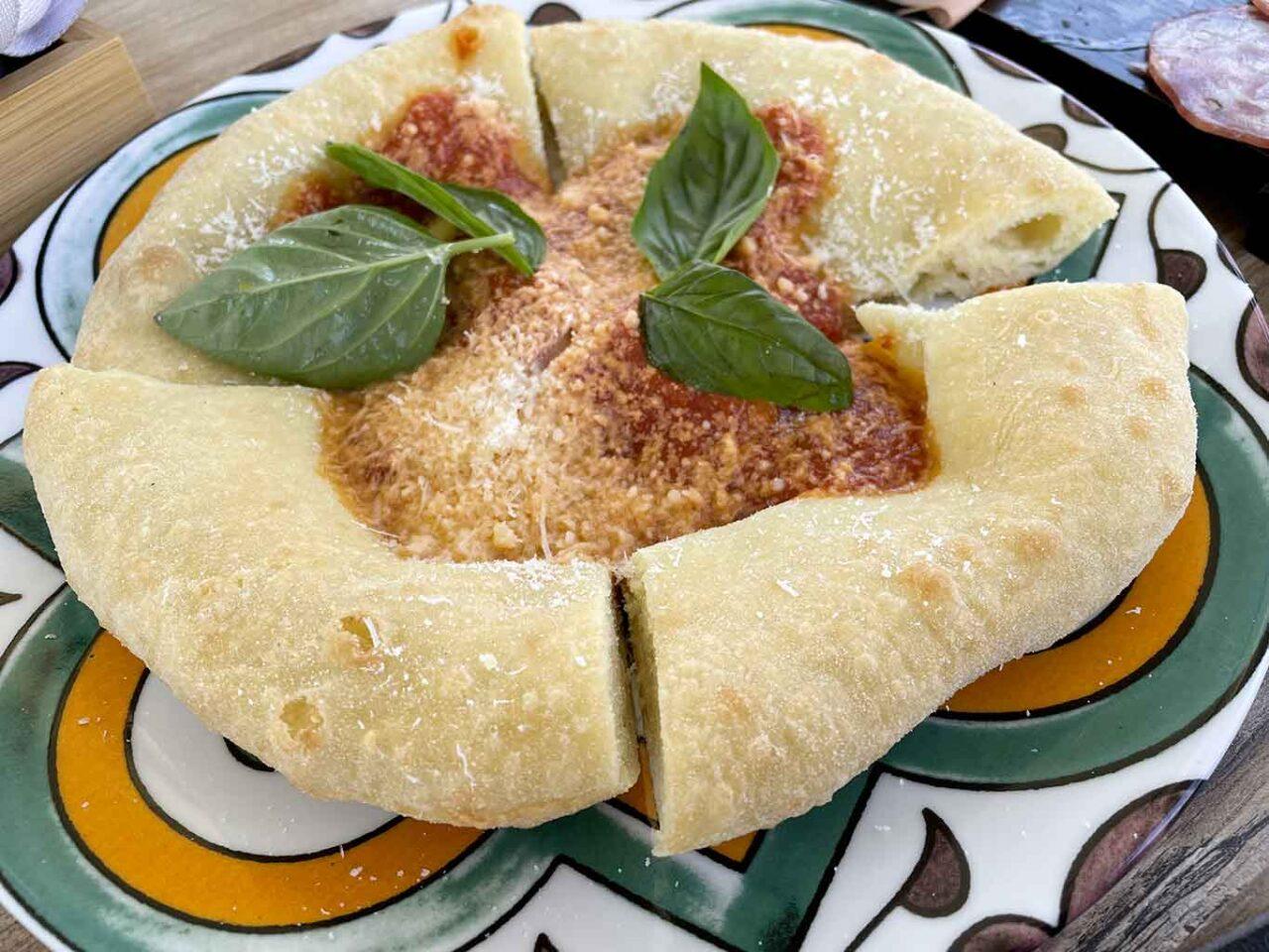 La Tana del Principe ristorante Mercato San Severino pizza fritta