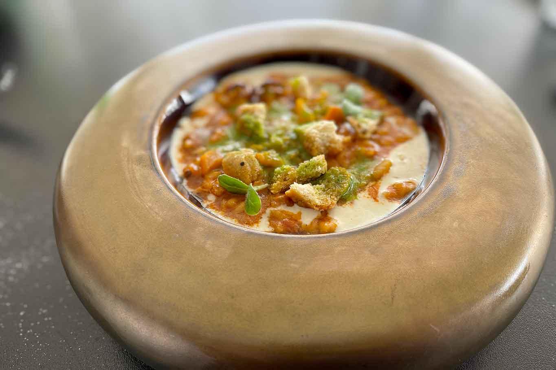 ristorante Litho 55 Portici risotto con soffritto