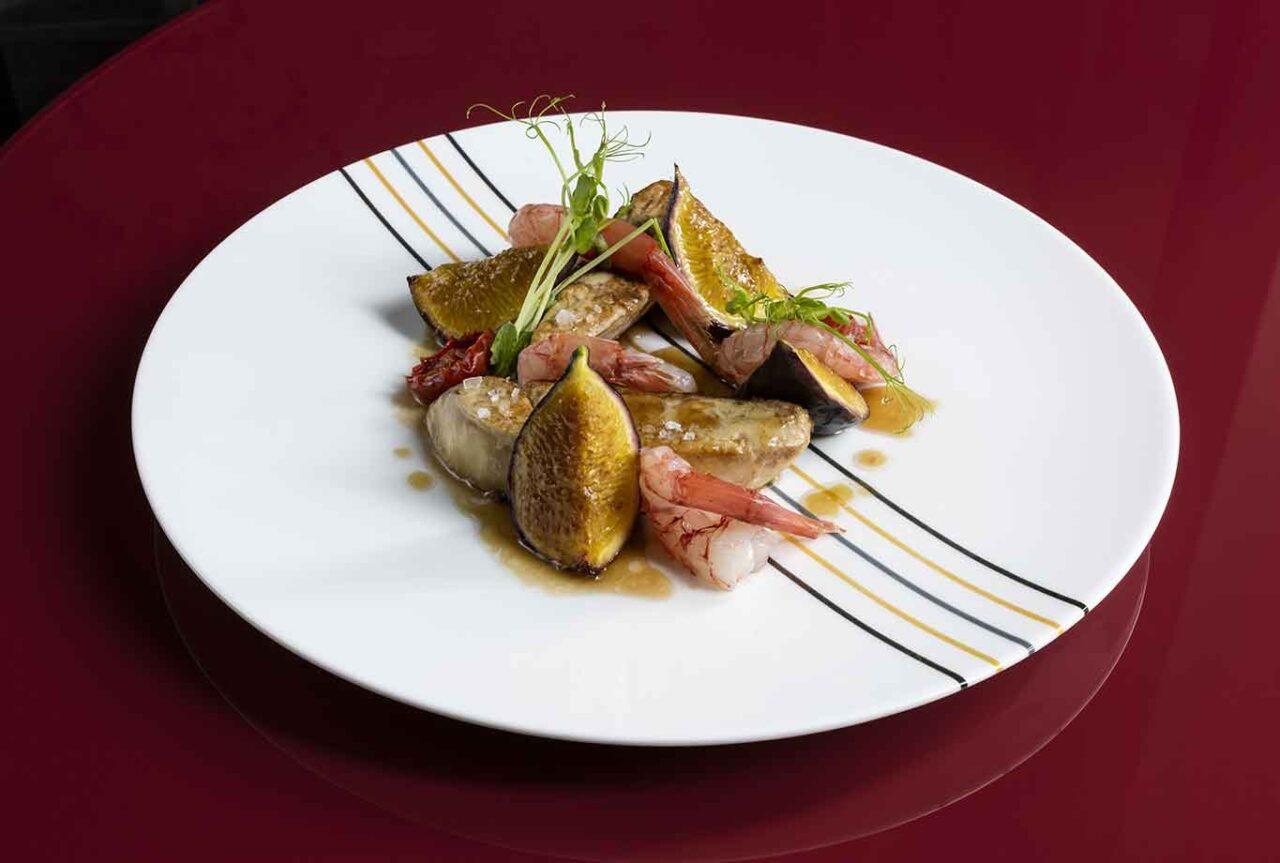 gambero rosso fichi foie gras