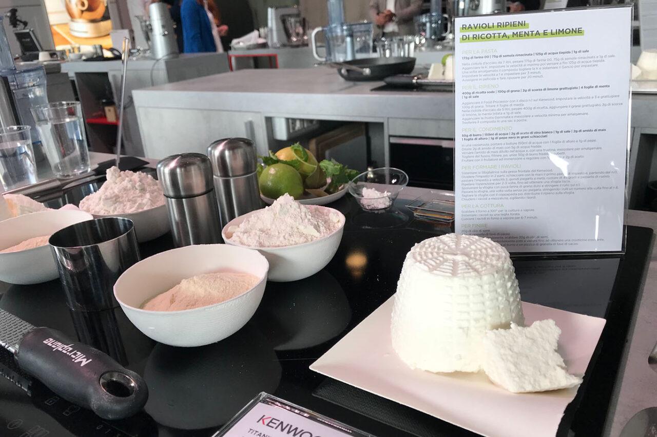 ingredienti per ravioli da fare in planetaria
