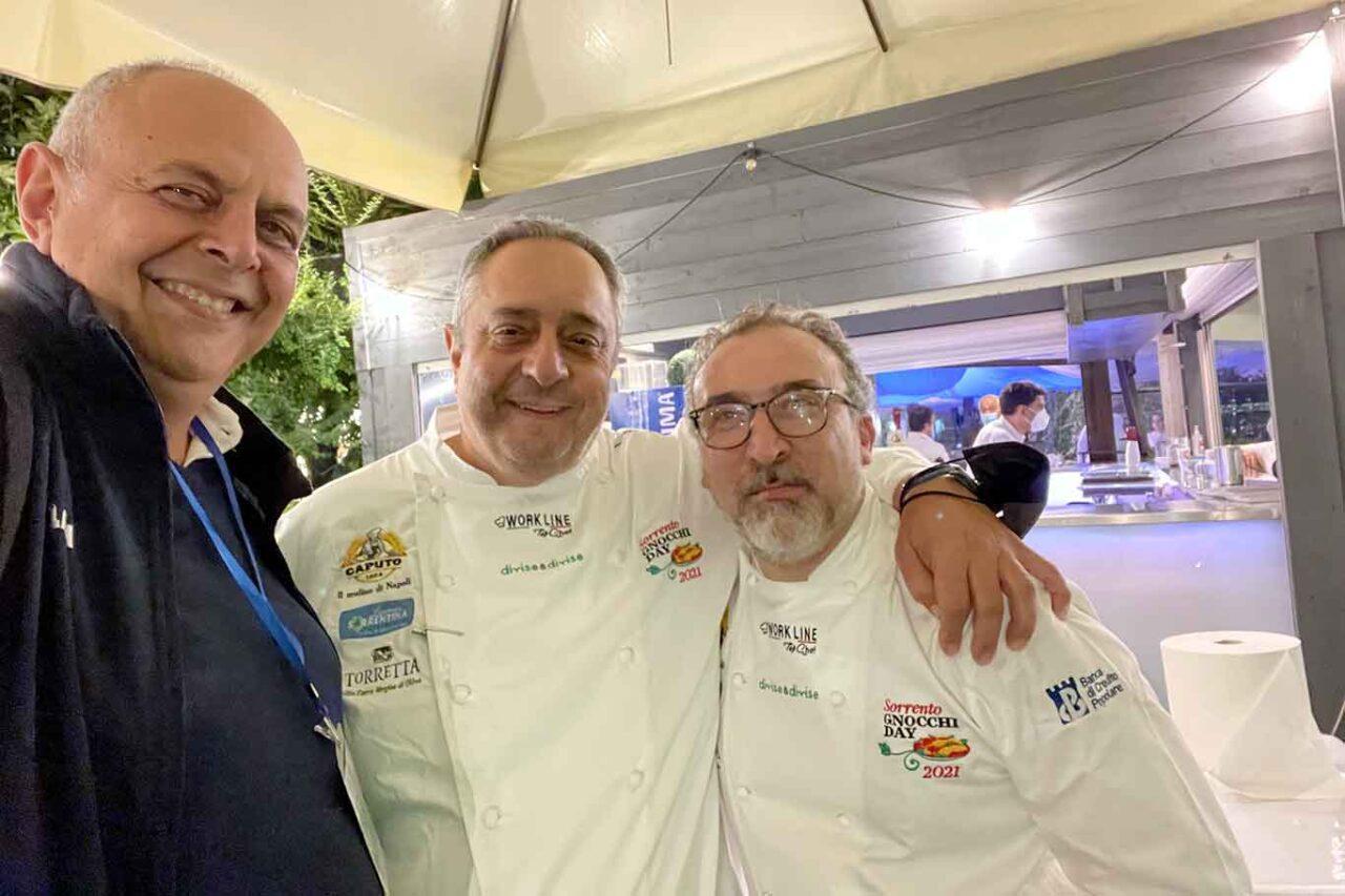 Vincenzo Pagano, Peppe Aversa e Lino Scarallo