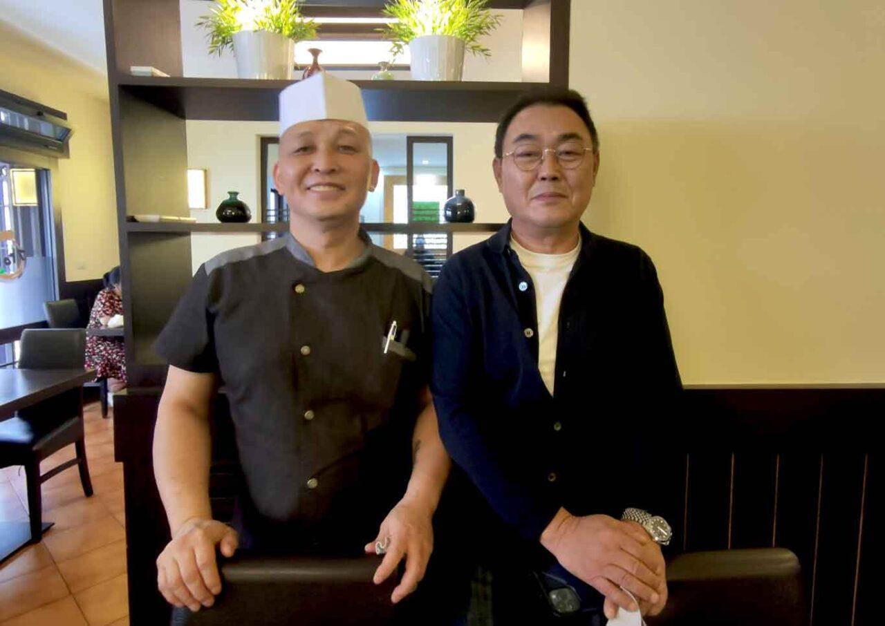 Daniel Kim e Stefano Chung di Gainn