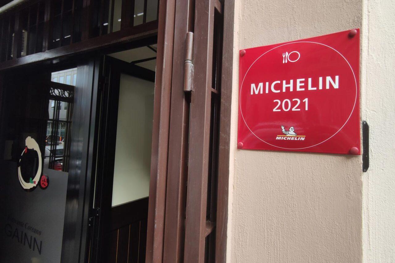 Gainn ristorante coreano nella Guida Michelin 2021