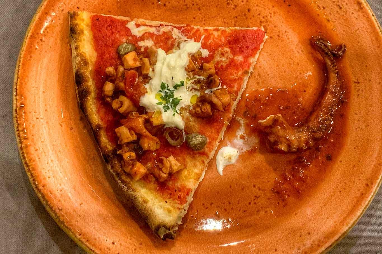 pizza e vini vulcanici