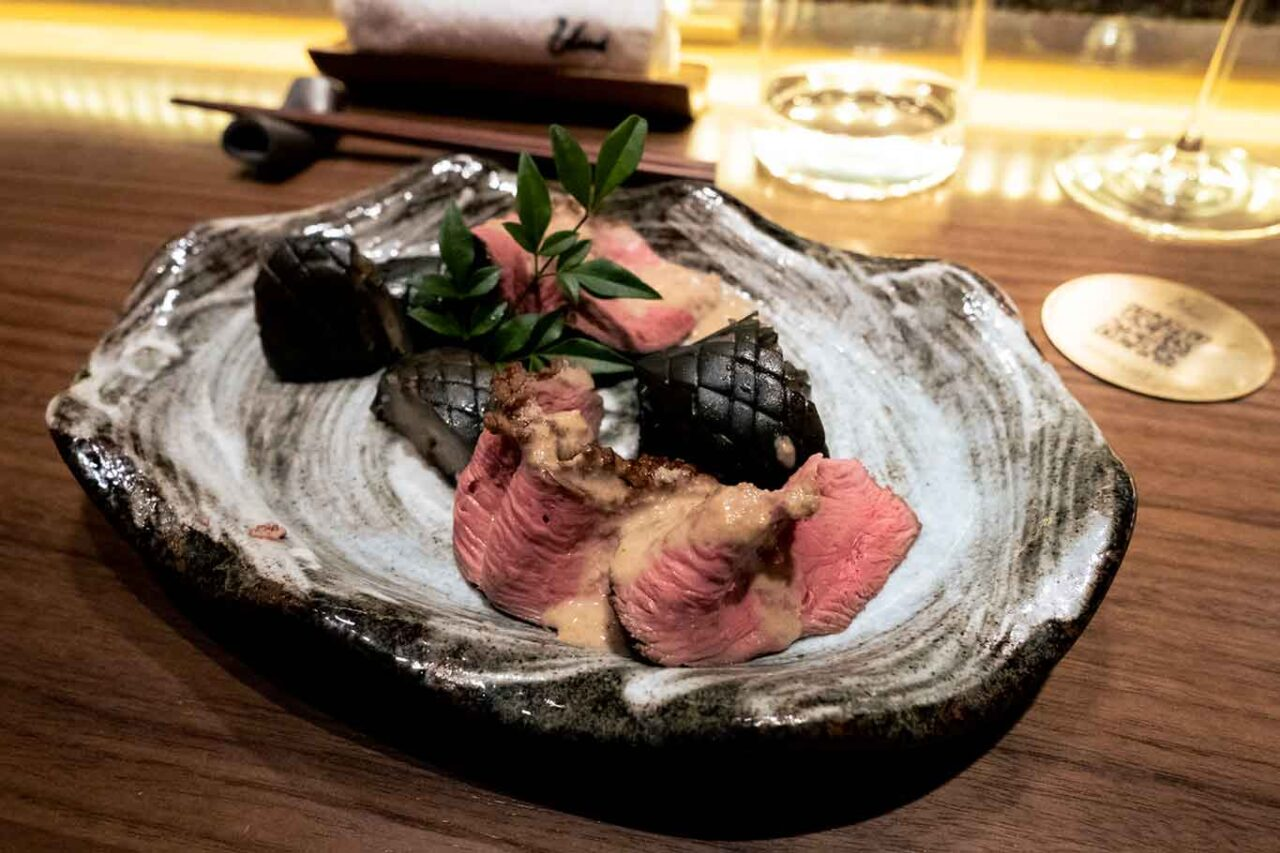 ristorante giapponese Umi Salerno anatra