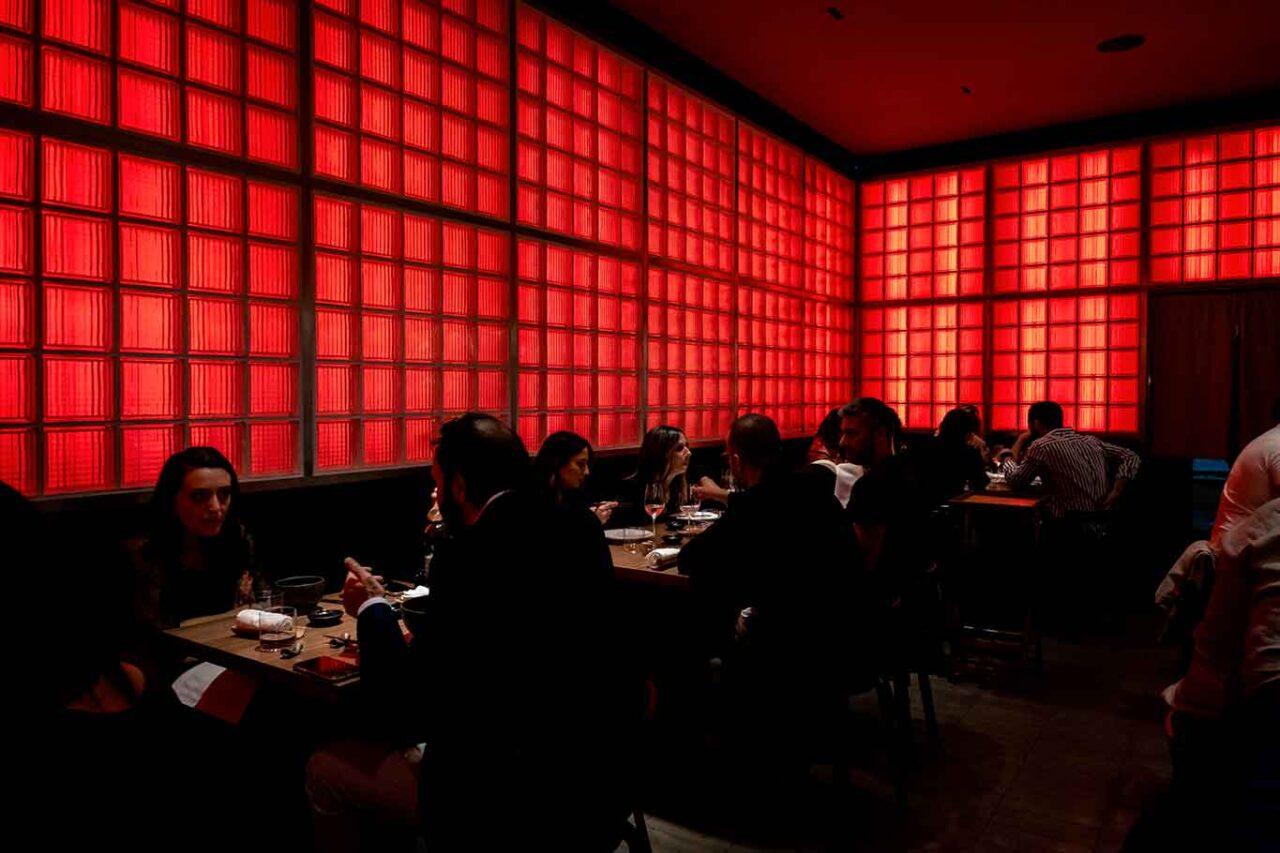 ristorante giapponese Umi Salerno sala