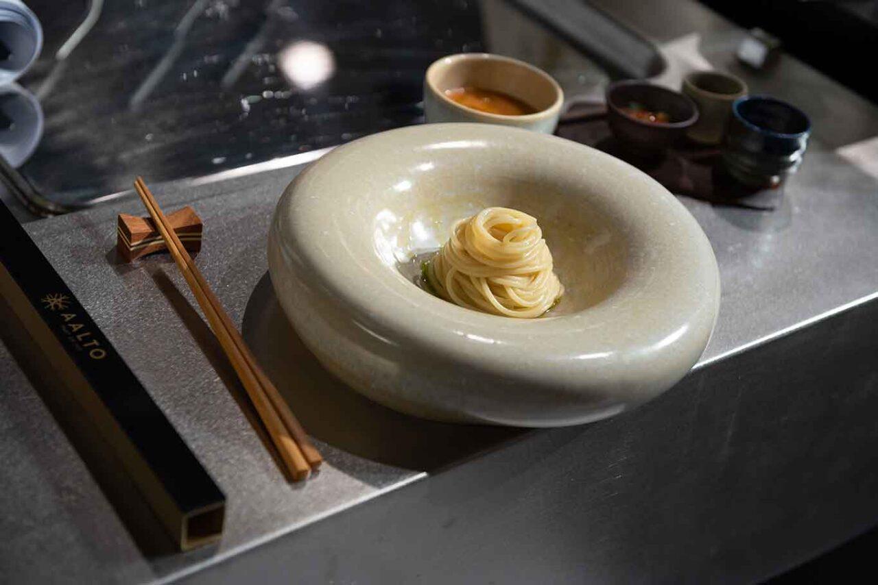 spaghetti per pasta al pomodoro di Takeshi Iwai